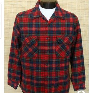 Pendleton Board Shirt 100% Wool
